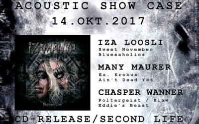 14.10. – Acoustic Show & Case CD Release