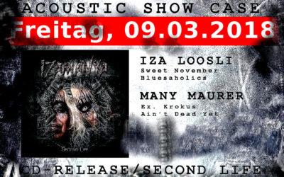 09. 03. 18 – Acoustic Show Case Second Life Kulturhaus zum Schilte Sechsi