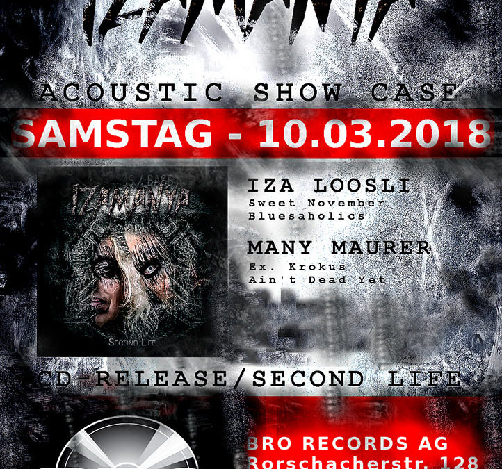 10.03.18 – Acoustic Show Case – Second Life – Bro Records AG