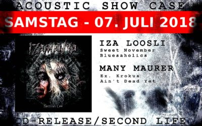 07/07/2018 ACOUSTIC SHOWCASE – SECOND LIFE ROCK AM GLEIS