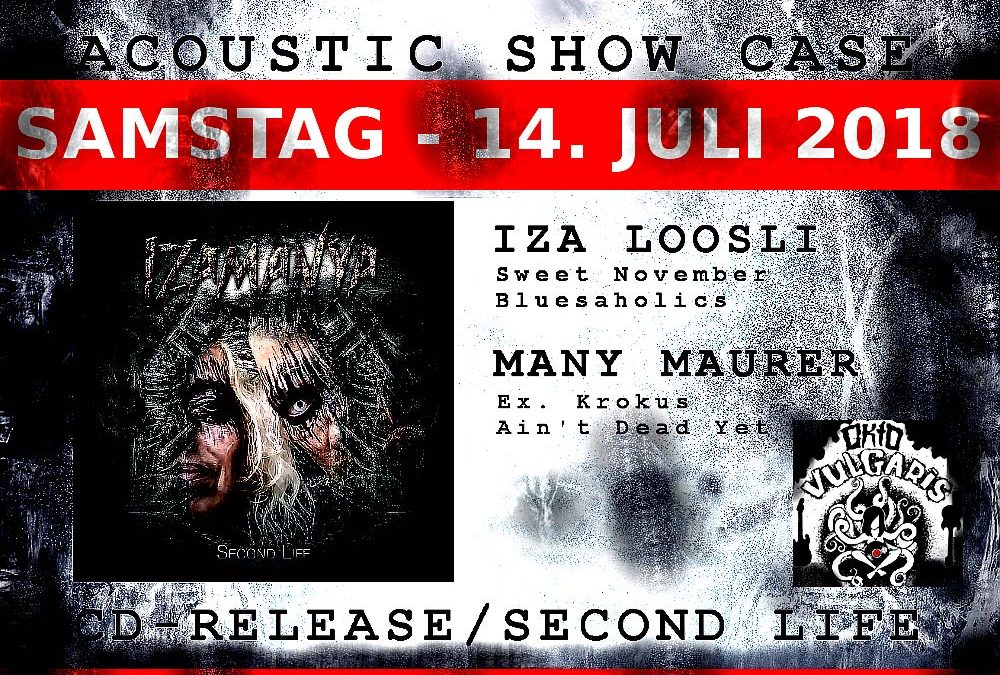 14/07/2018 Acoustic Showcase Izamanya & Okto Vulgaris