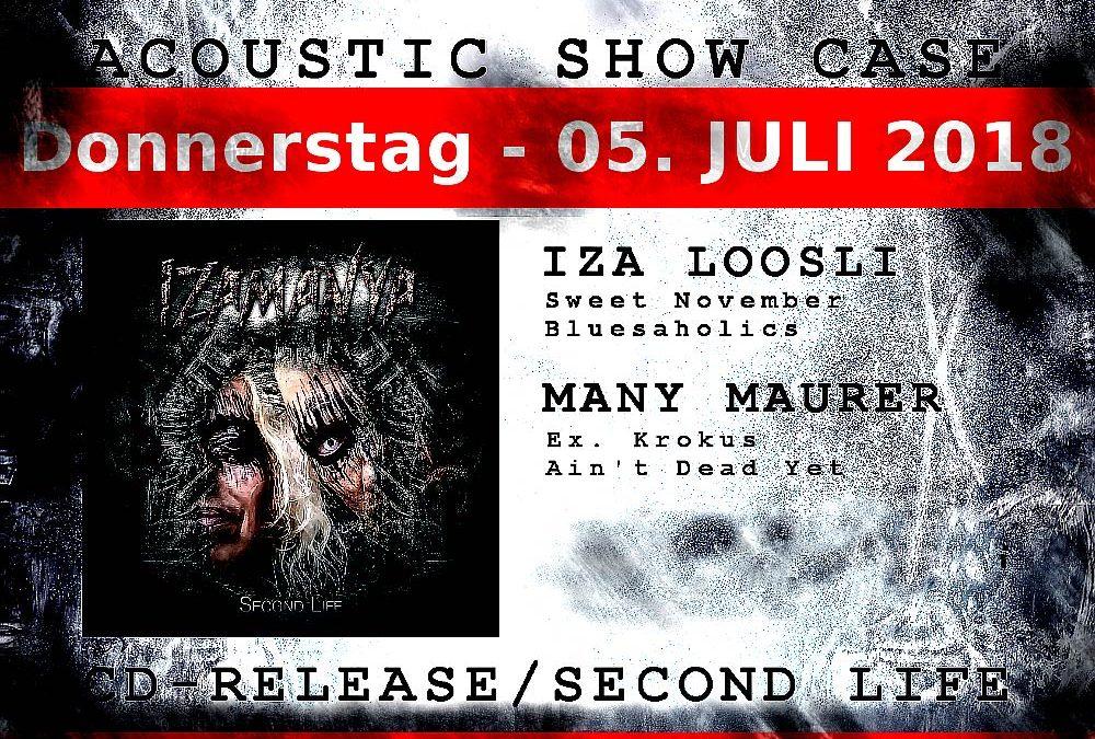 05/07/2018 ACOUSTIC SHOWCASE – SECOND LIFE Waldbühne Arosa