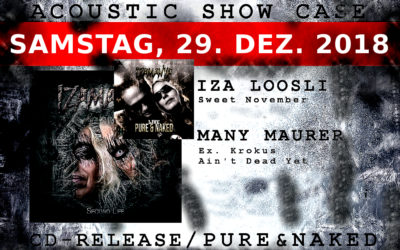 29/12/2018 CD – Release – Pure & Naked